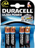 DURACELL ULTRA POWER BATTERY AA PACK A 4 STUECK